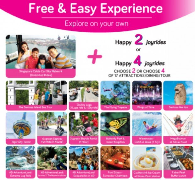 Singapore Cable Car Free and Easy Experience from SGD50
