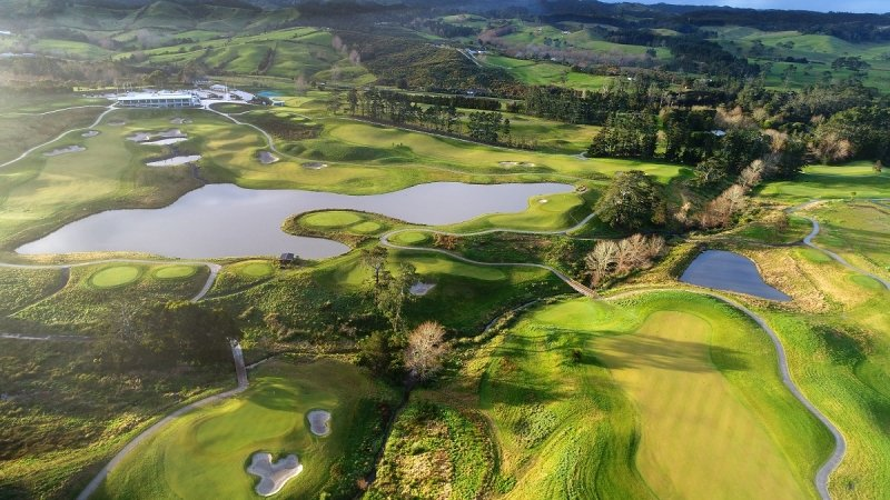 new zealand golf destination