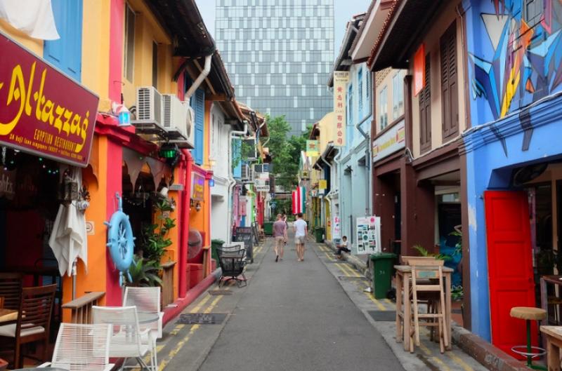 singapore malls haji lane