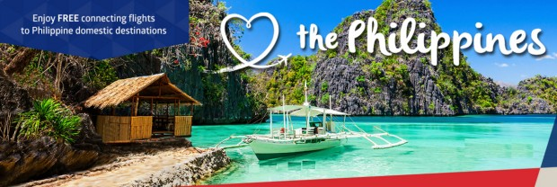 Enjoy FREE Connecting Flights to Philippine Domestic Destination with Philippine Airlines