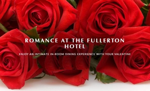 Romance Staycation at The Fullerton Hotel Singapore