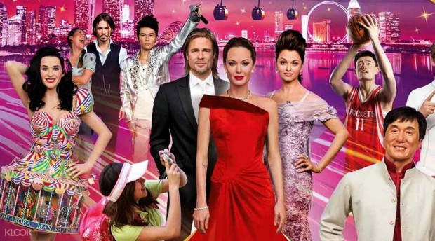 1-for-1 Admission Tickets to Madame Tussauds Singapore with DBS PAssion POSB Card