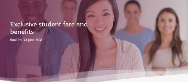Exclusive Student Fare and Benefits as they Fly with Qatar Airways