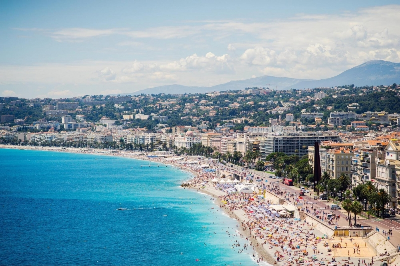 Week end on the french riviera