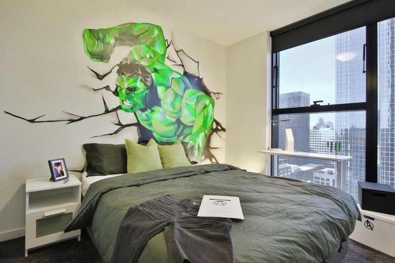marvel-themed airbnbs