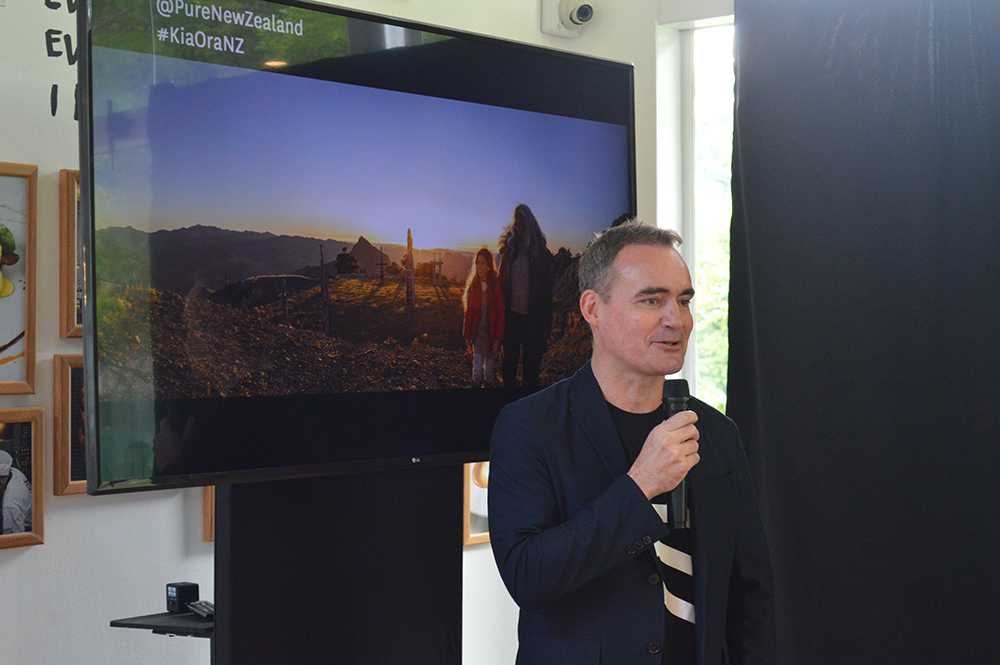 Steven Dixon, Regional Manager for South and South East Asia of Tourism New Zealand
