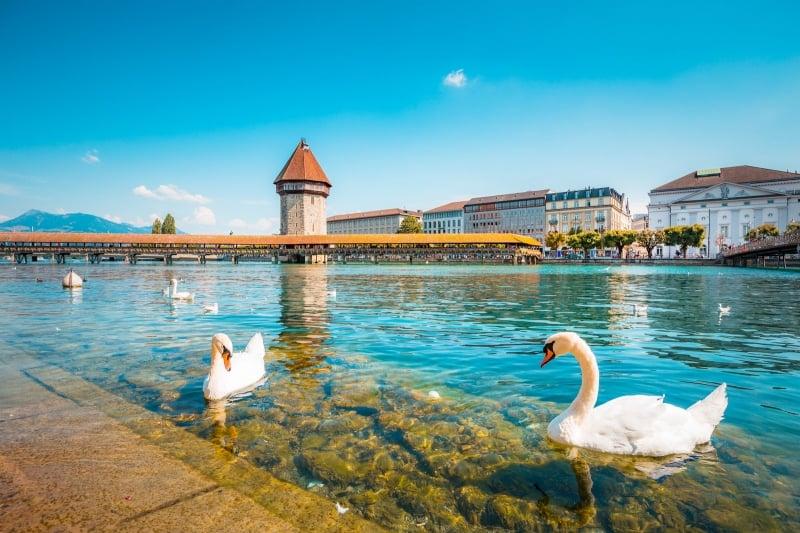 cities in switzerland: lucerne