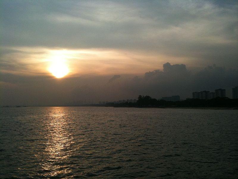 Sunset from Bedok Jetty