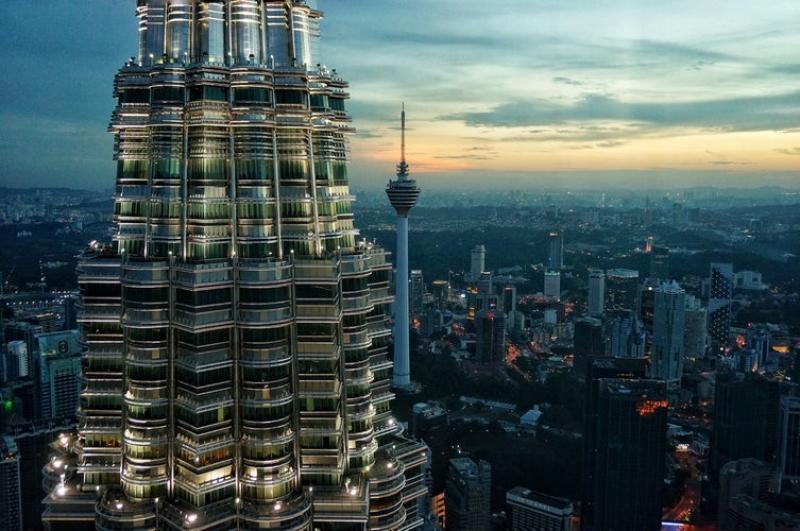 Lịch Trình Du Lịch Kuala Lumpur tháp đôi
