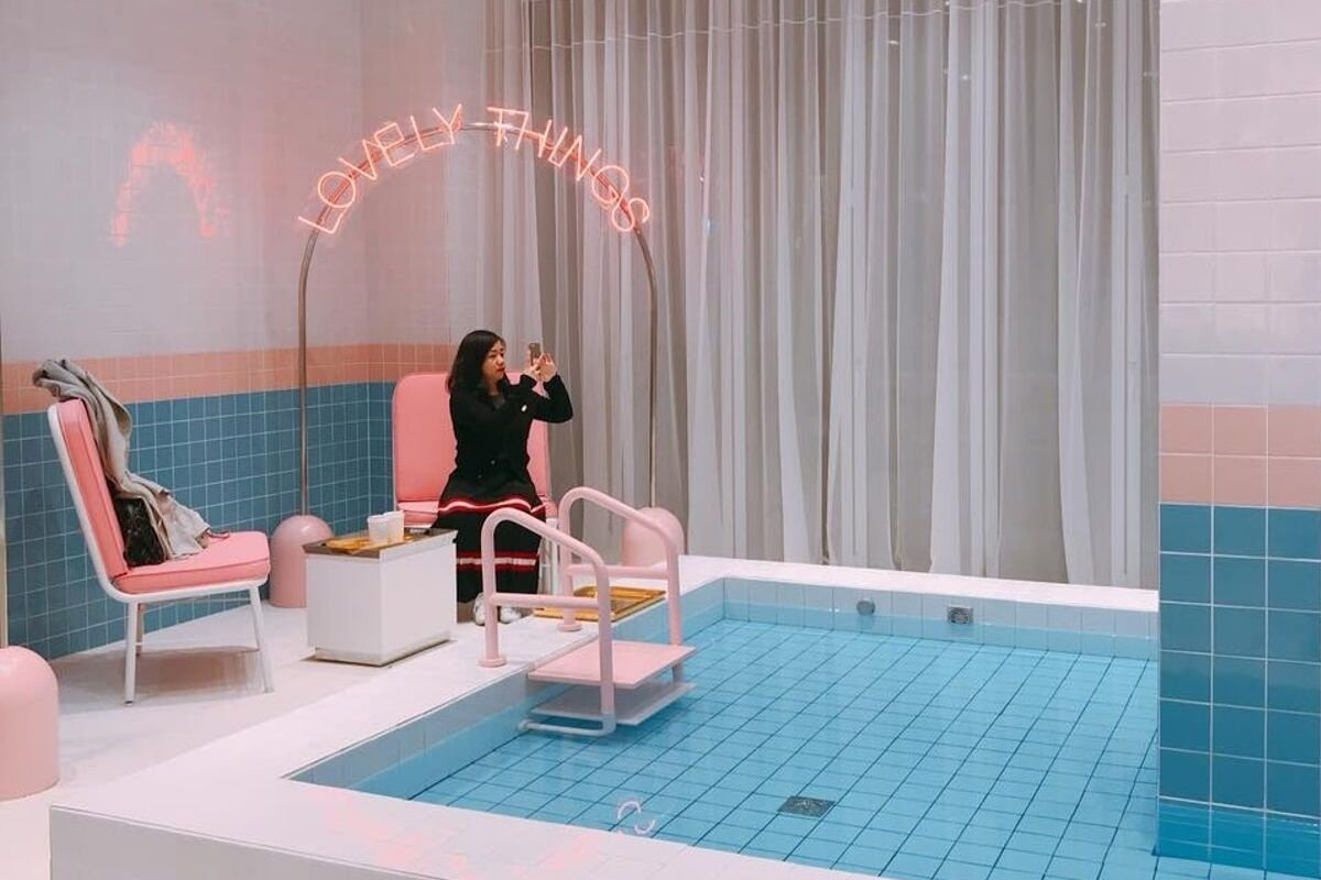 Stylenanda Pink Pool Cafe