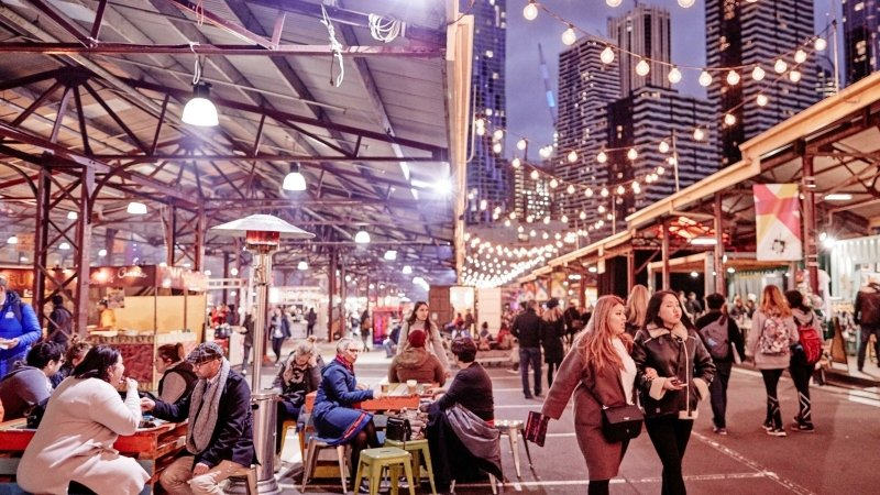 melbourne itinerary: queen victoria market
