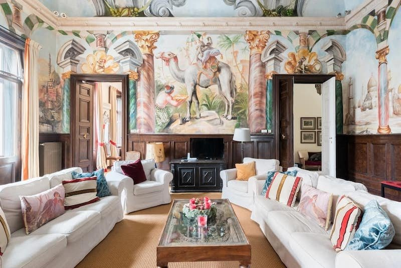 Imperial Castle Airbnb in Vienna, Austria