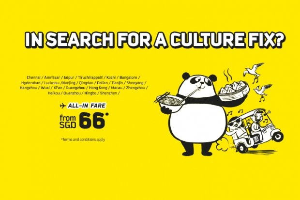 Fly to 24 Favourite Destinations from SGD66 with Scoot