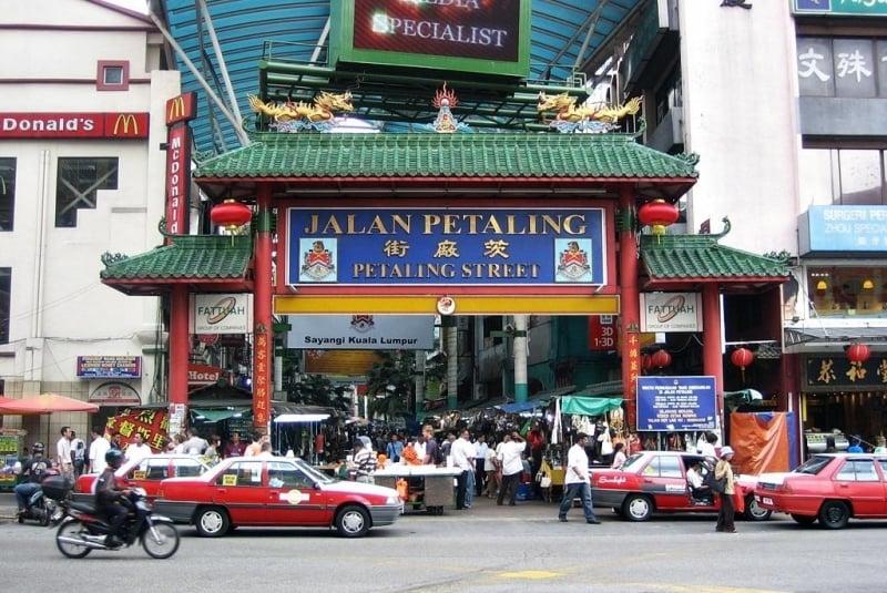 Lịch Trình Du Lịch Kuala Lumpur jalan petaling