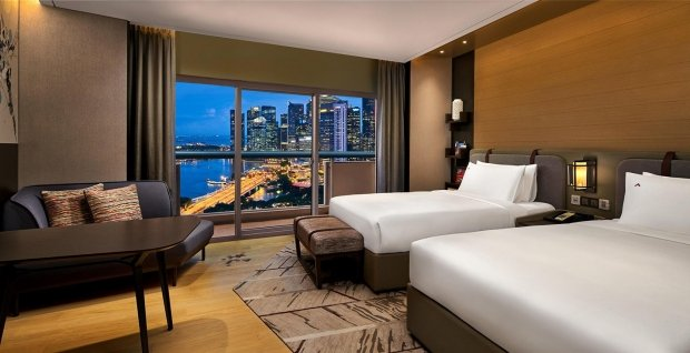 Experience Panoramic Skylines at 20% Off in Swissotel The Stamford
