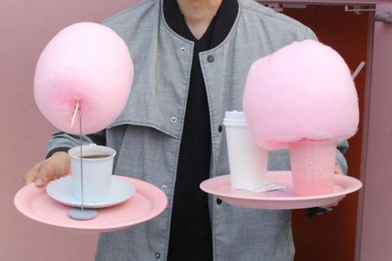 Stylenanda Pink Pool Cafe drinks