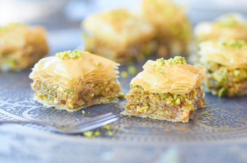 things to do in santorini: eat baklava
