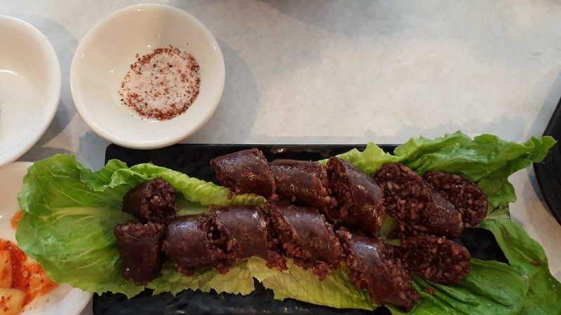 korean sausage