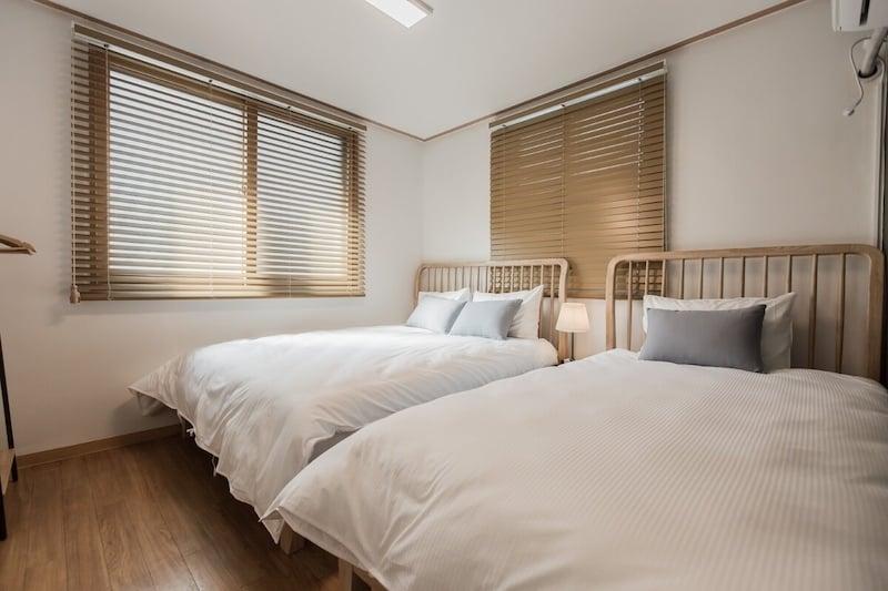 Minimalist Airbnb in Myeongdong