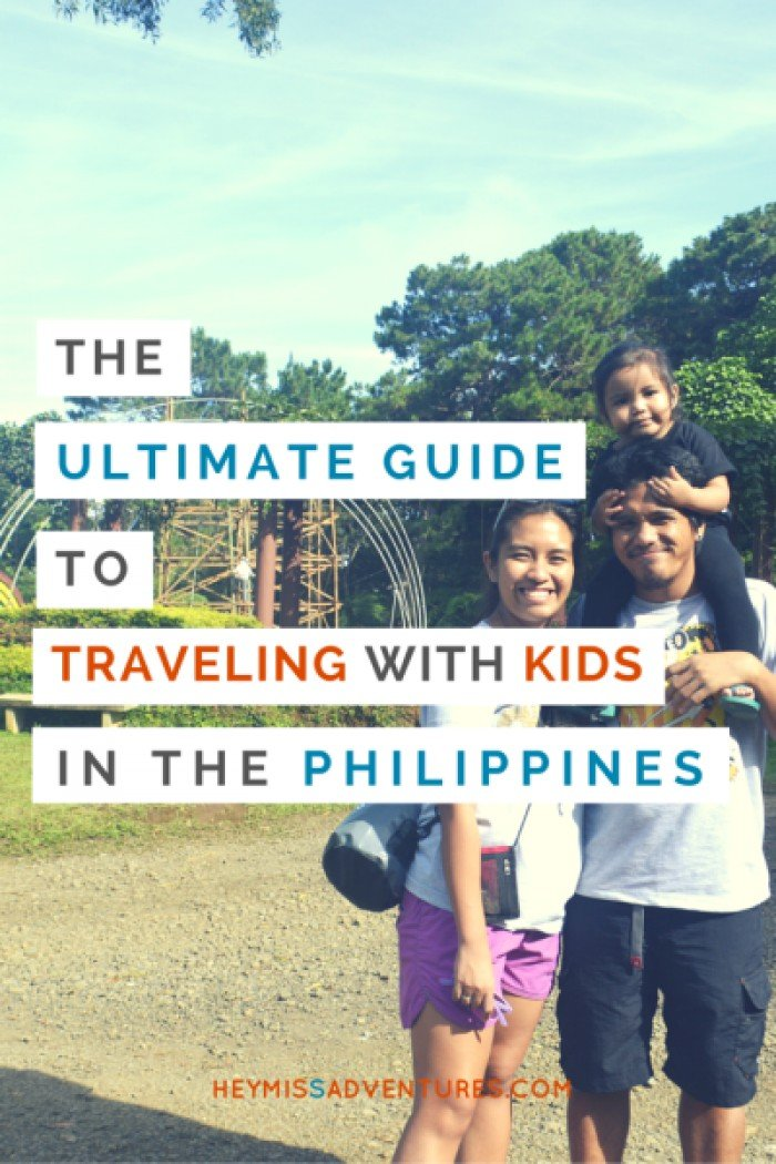 guide travelling kids philippines