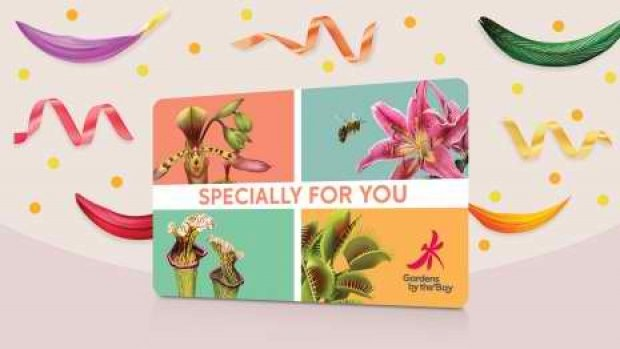 Enjoy 50% Off Every 2nd Gift Card Purchase of Gardens by the Bay
