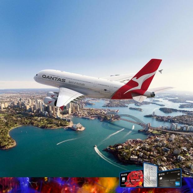 Enjoy Exclusive Fares in Qantas Airways with UOB Cards
