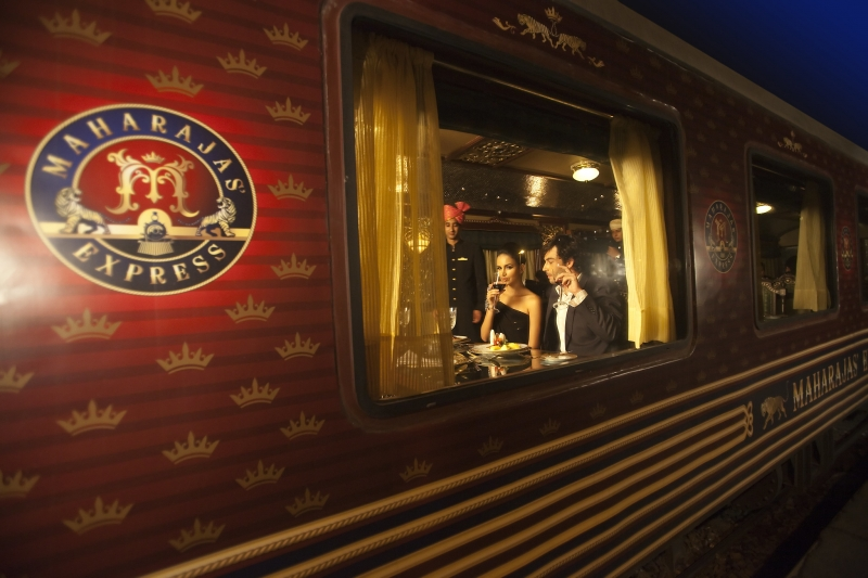 luxury train in india, maharajas express
