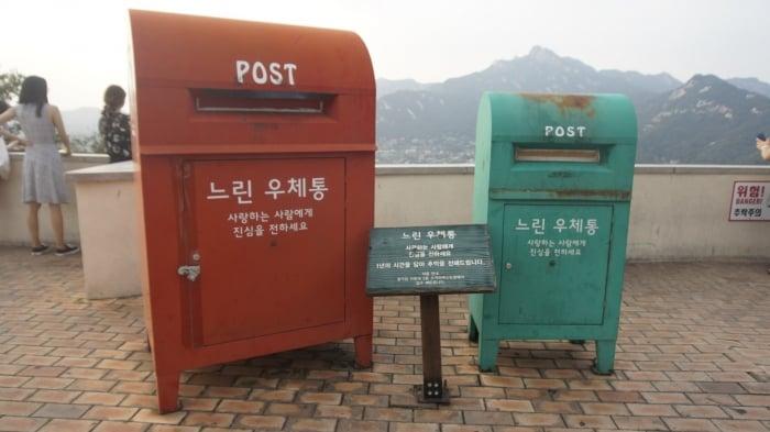 địa điểm chụp hình ở Seoul Cầu trên không Bugak 북악 스카이웨이