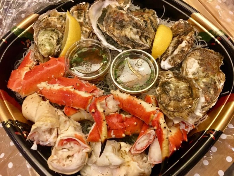 Seafood Platter from Ezo Seafoods and Oyster Bar
