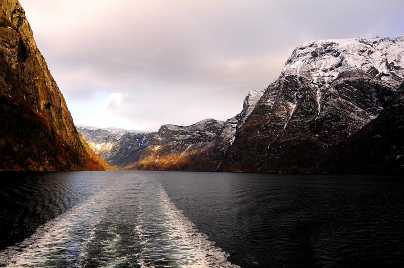 vùng vịnh ở Na Uy