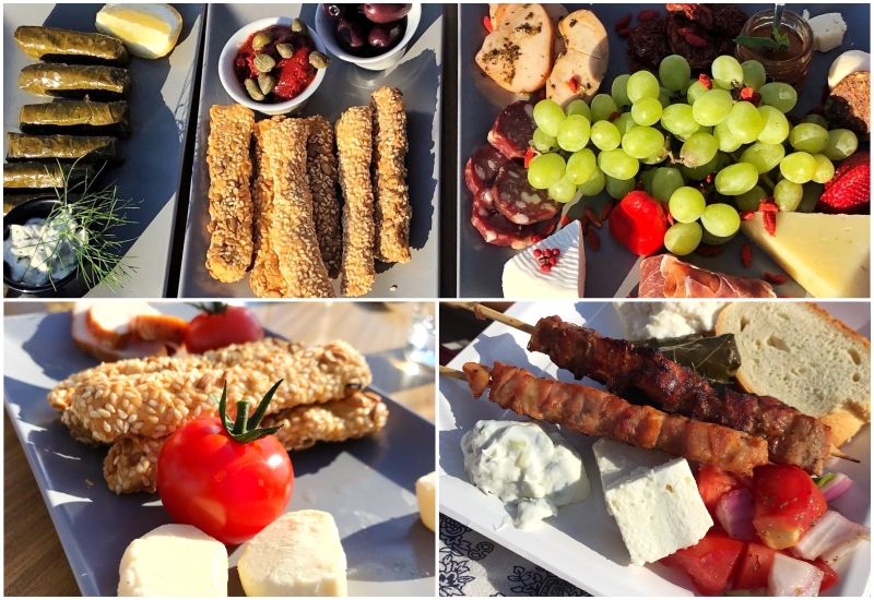 things to do in santorini: enjoy greek cuisine