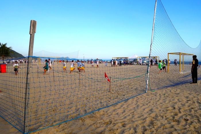 copacabana beach brazil south america