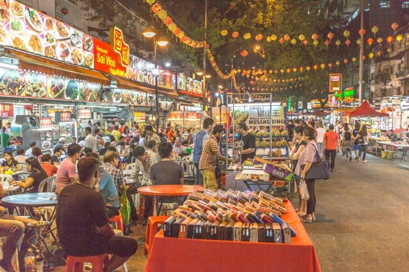 Lịch Trình Du Lịch Kuala Lumpur chợ đêm