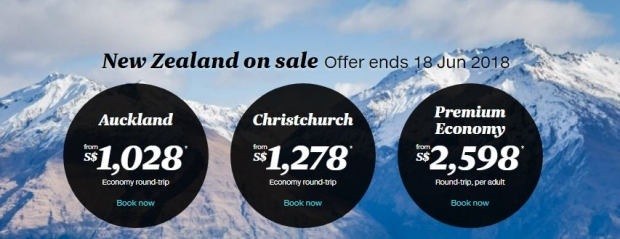 Fly High Down Under with Air New Zealand from SGD808