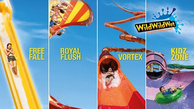 30% OFF Day Passes to Wild Wild Wet with NTUC Card