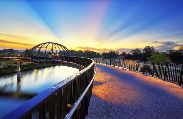 Jewel Bridge @ Sunset Strip, Punggol Waterway Park