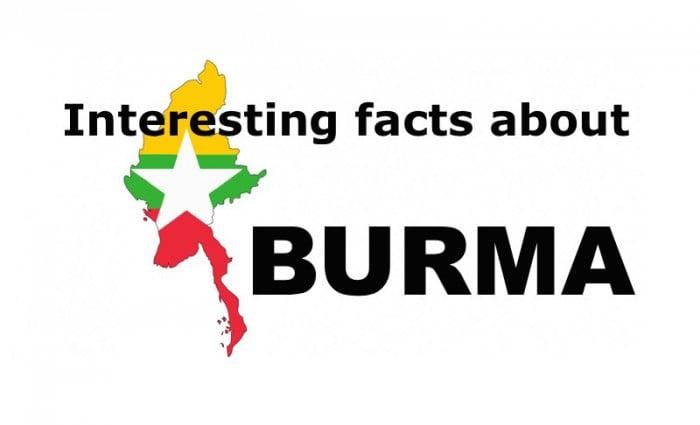 myanmar interesting facts