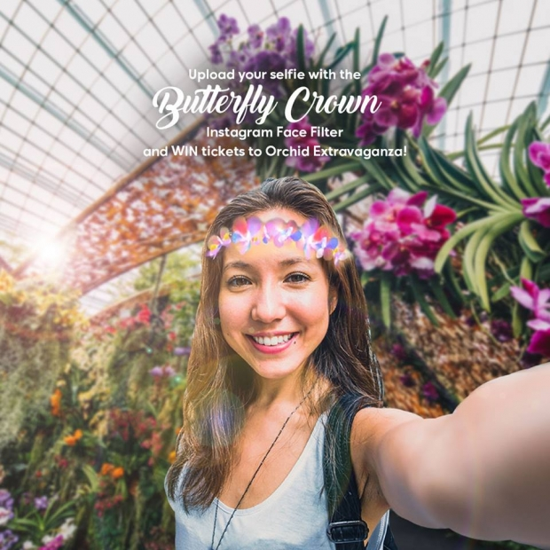 Snap & Win Tickets to Orchid Extravaganza in Gardens by the Bay