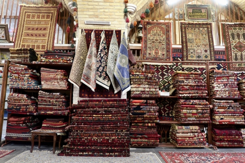 carpet shop Iran