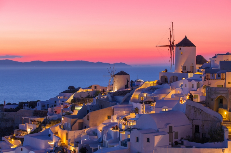 things to do in santorini: sunset