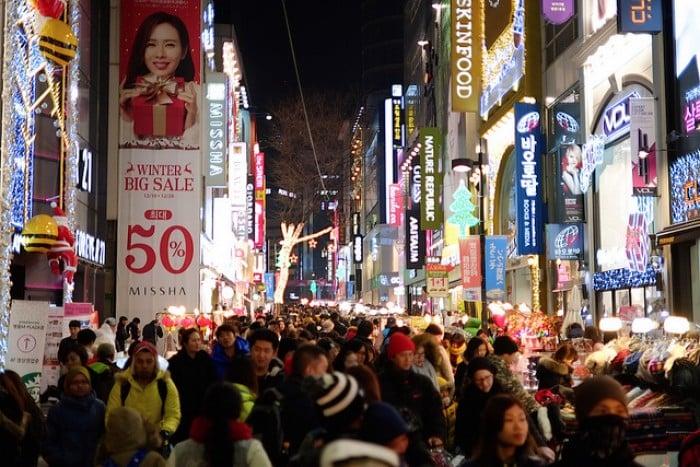 myeongdong shop seoul