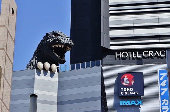 chỉ có ở Tokyo Godzilla