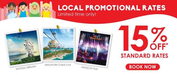 Local Promotional Rates in Singapore Cable Car with 15% Savings