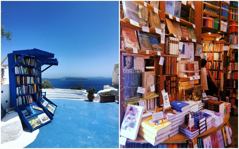 things to do in santorini: roofstop terrace