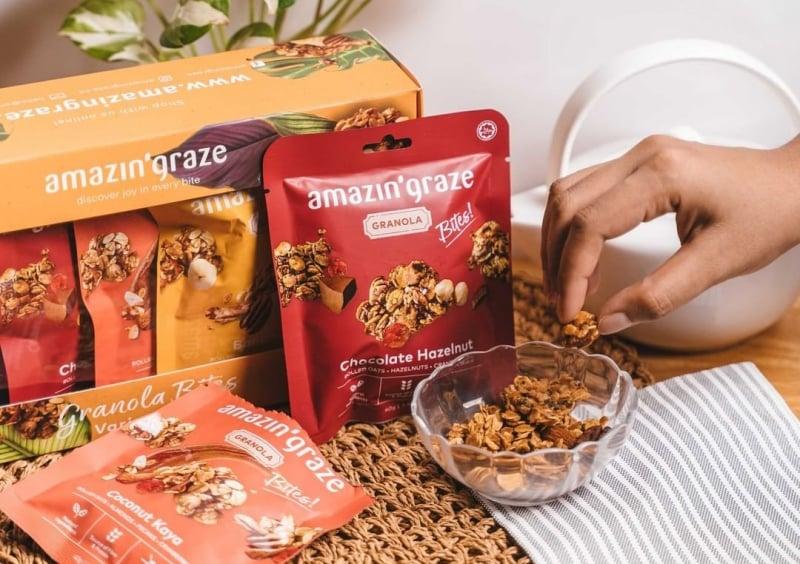 amazin' graze snacks in Malaysia