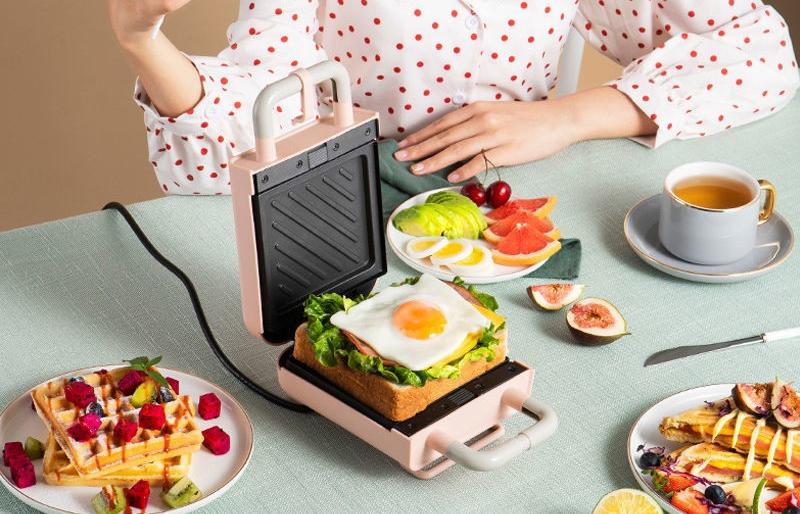 烤三明治机 早餐神器