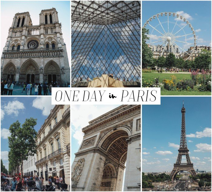 Paris Main Attractions In One Day