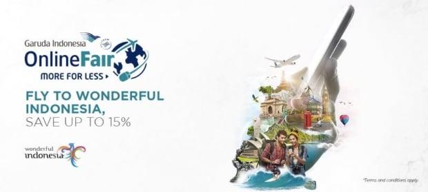 Garuda Indonesia Online Travel Fair 2018