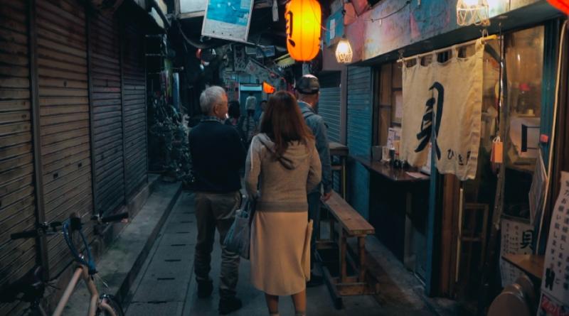 Shops along Sakaemachi Arcade