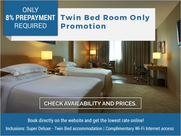 TWIN BED-Room Only Promotion from RM245 in Royale Chulan The Curve